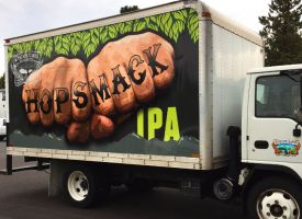 Cascade Lakes Brewery Box Truck Wrap