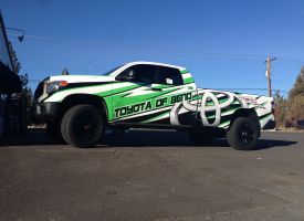 Toyota of Bend Full Truck Wrap